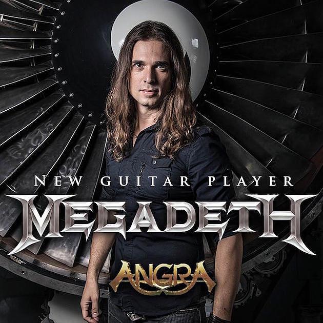 Angra Members Proud Guitarist Kiko Loureiro Joining Megadeth