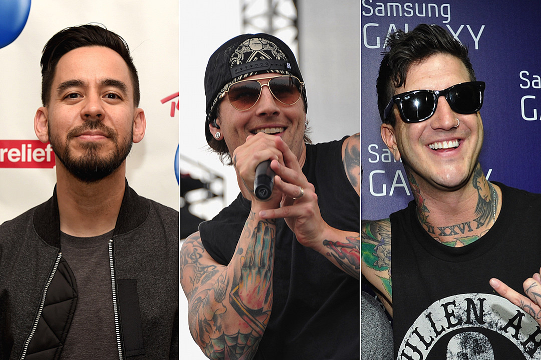 Linkin Park, A7X and Of Mice & Men Members Jam Together