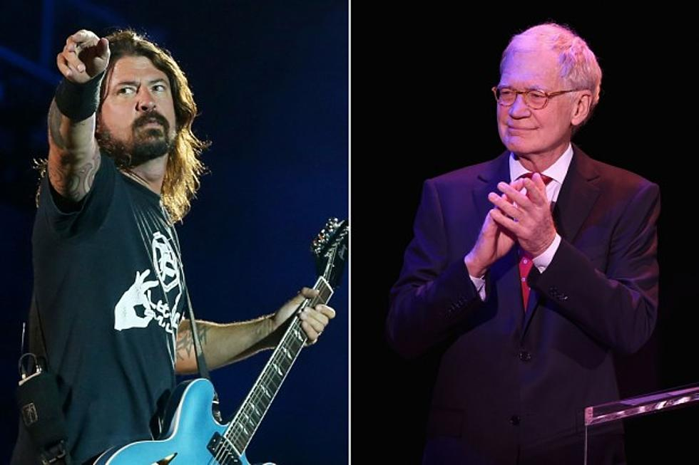 Foo Fighters Appear as David Letterman's Final Musical Guest