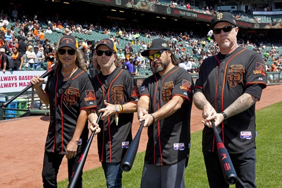 45a56ed6 San Francisco Giants Go Black For Third Annual Metallica Day