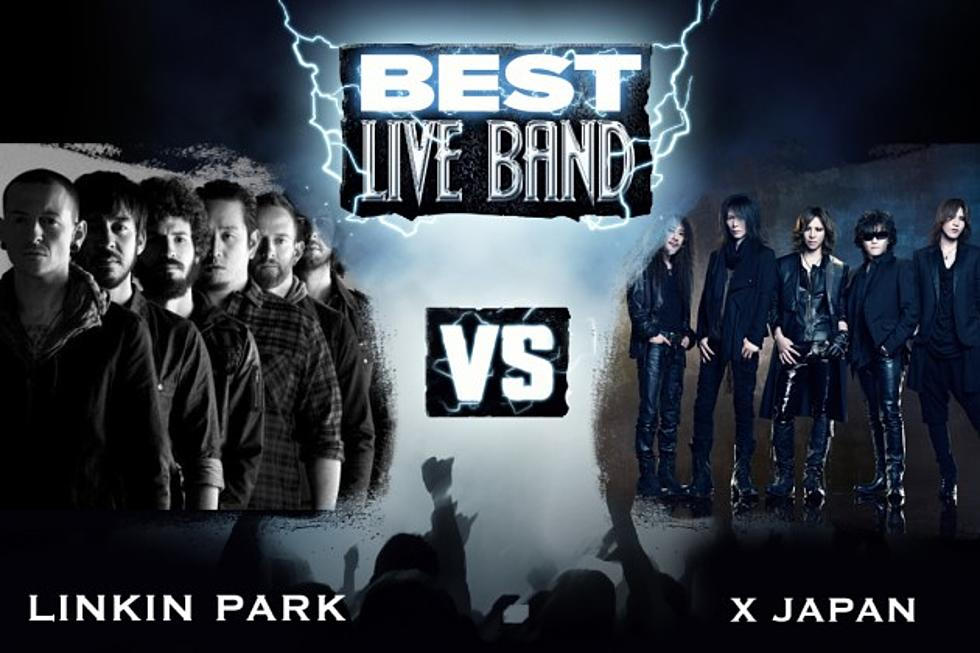 Linkin Park vs  X Japan - Best Live Band, Round 1