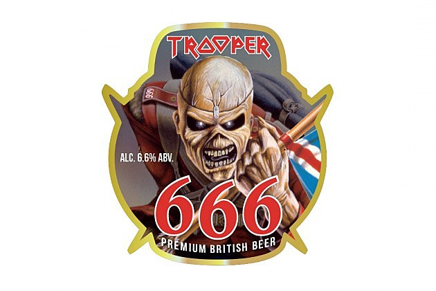 Iron Maiden to Introduce 'Supercharged' Trooper 666 Beer