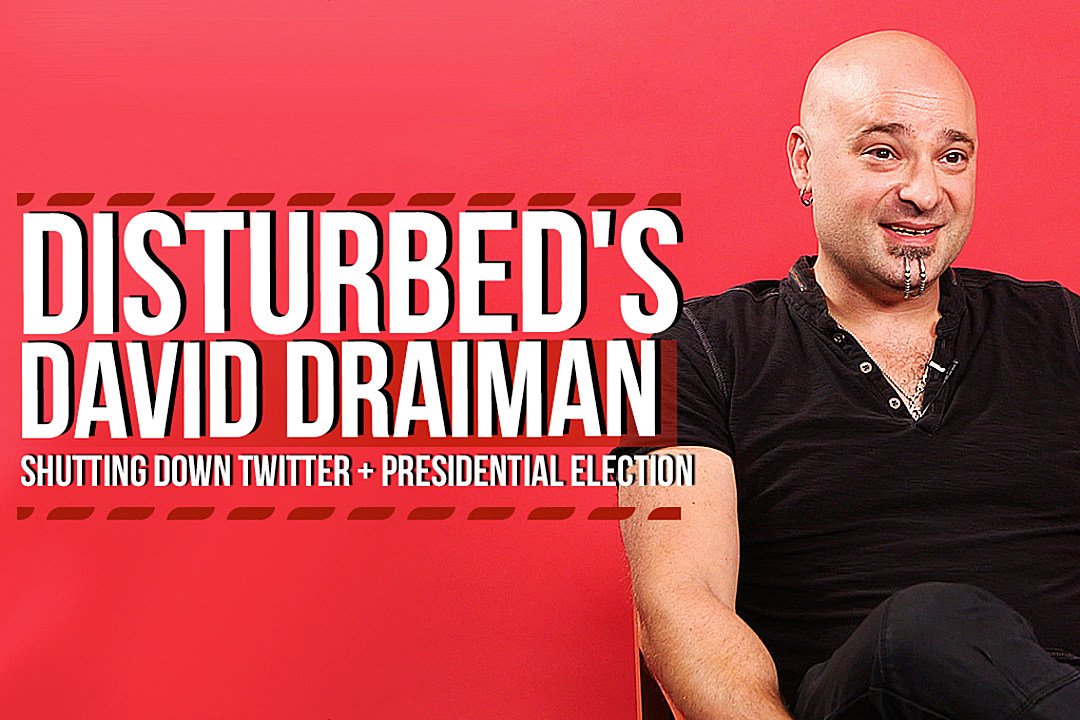 592df8f0c57d0 Disturbed's David Draiman Talks Twitter Exit, Election