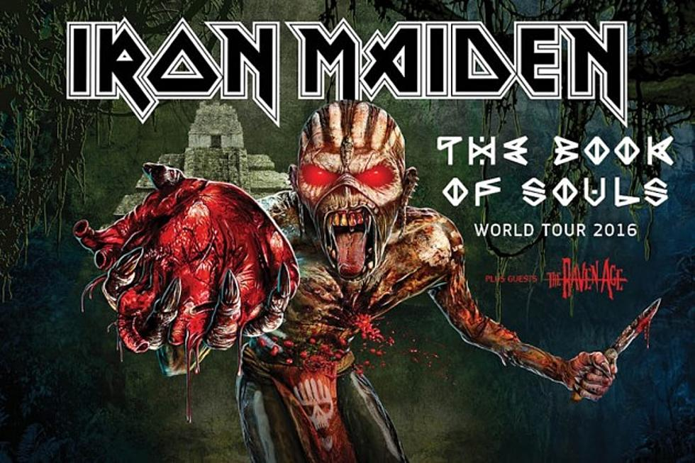 Iron Maiden Reveal Routing of 2016 Tour, Unveil Select Dates