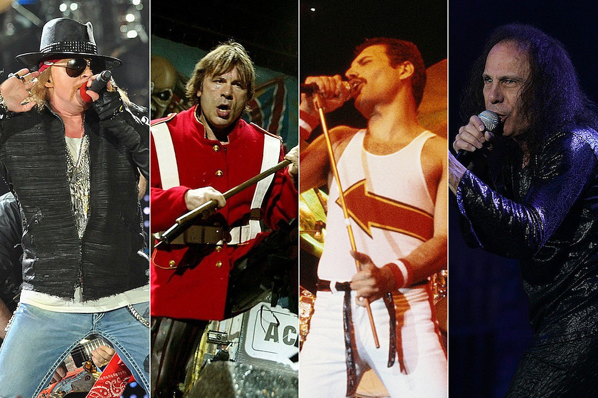The 66 Best Hard Rock + Metal Frontmen of All Time