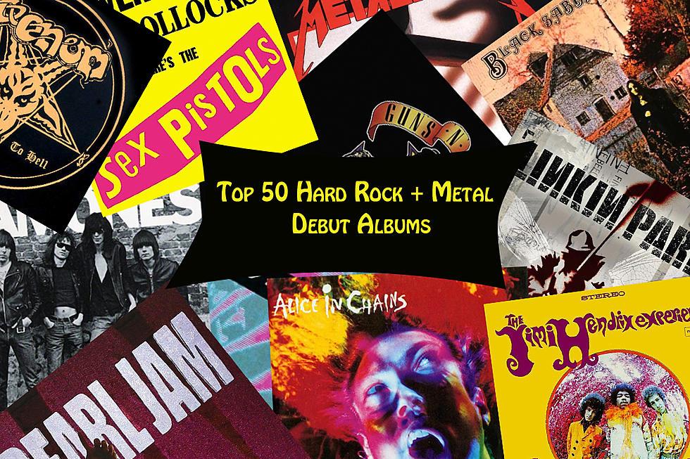 The 50 Best Metal Hard Rock Debut Albums Ranked