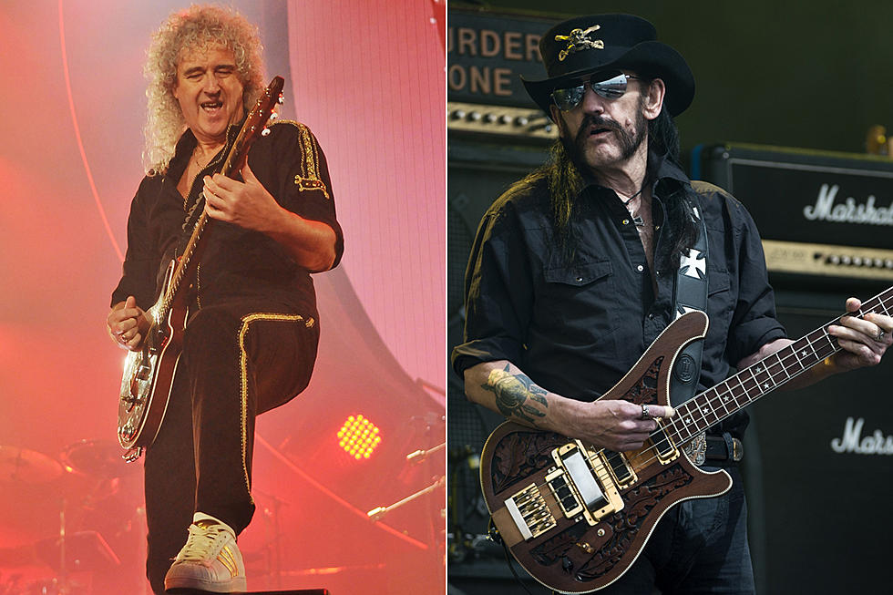 Brian May Pens Moving Tribute to Lemmy Kilmister