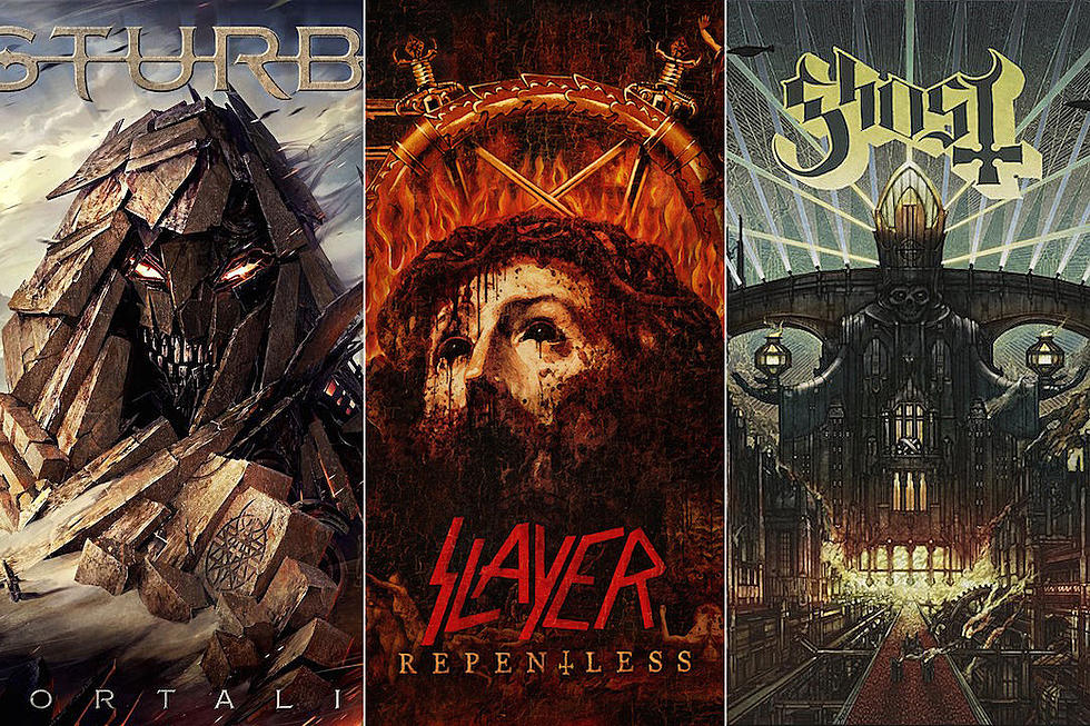 25 Best Hard Rock + Metal Album Covers of 2015