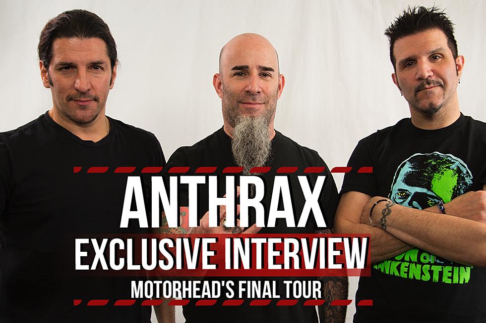 Anthrax Talk Touring With Motorhead, Lemmy Kilmister Stories