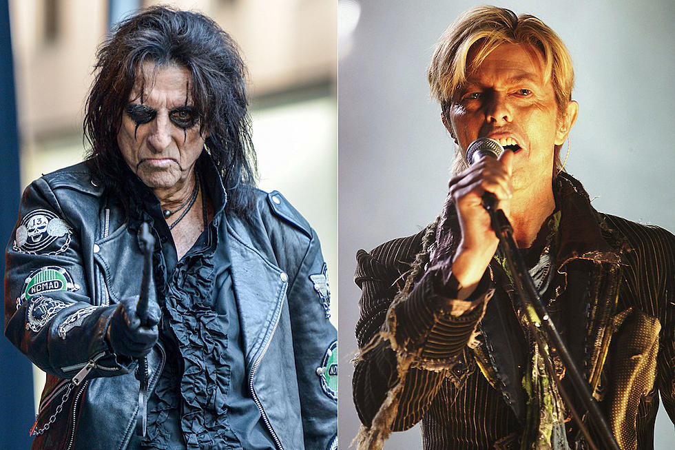 Alice Cooper Pays Tribute to His Friend David Bowie
