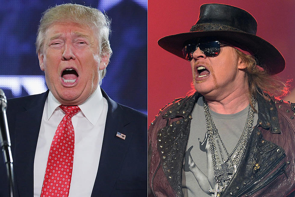 Axl Rose on Donald Trump: 'We Don't Have a President'