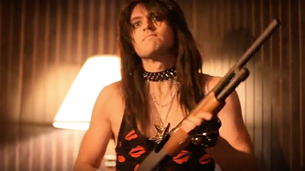 Hairmetal Shotgun Zombie Massacre Movie Trailer Premiere