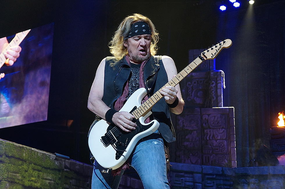 The 63-year old son of father (?) and mother(?) Adrian Smith in 2020 photo. Adrian Smith earned a  million dollar salary - leaving the net worth at  million in 2020