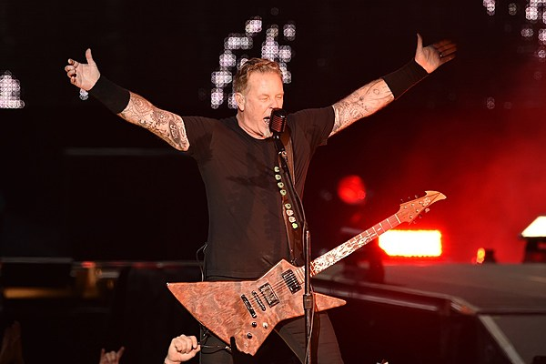 Metallica's James Hetfield to Haters: 'We Don't Give a Crap'