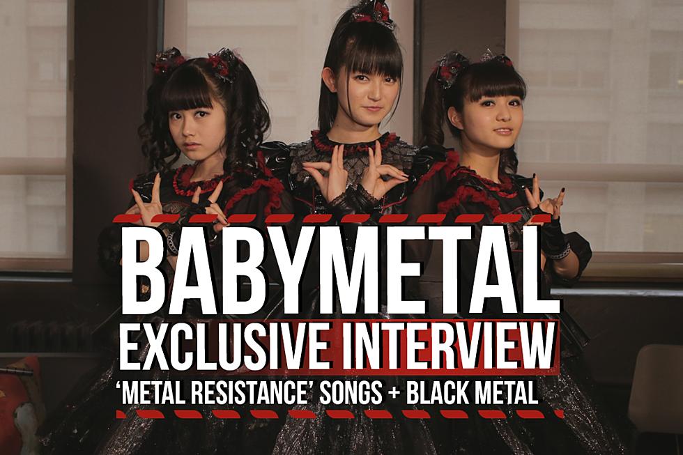 Babymetal Discuss Black Metal + New 'Metal Resistance' Songs