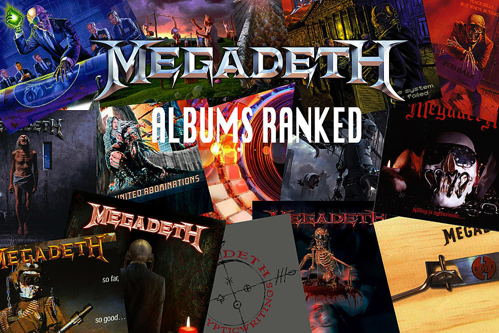 Top Megadeth  MegadethRank2