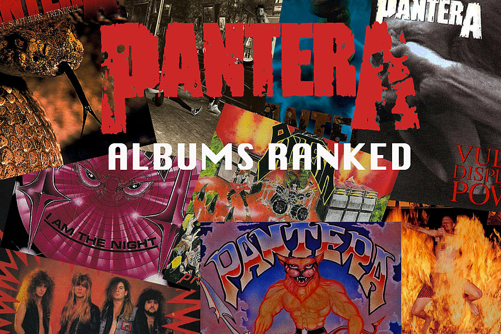 Pantera Albums Ranked