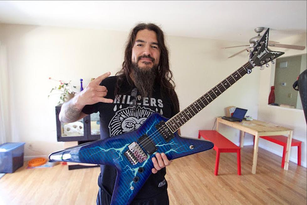 Robb Flynn Reunited With Stolen Dimebag Darrell Guitar