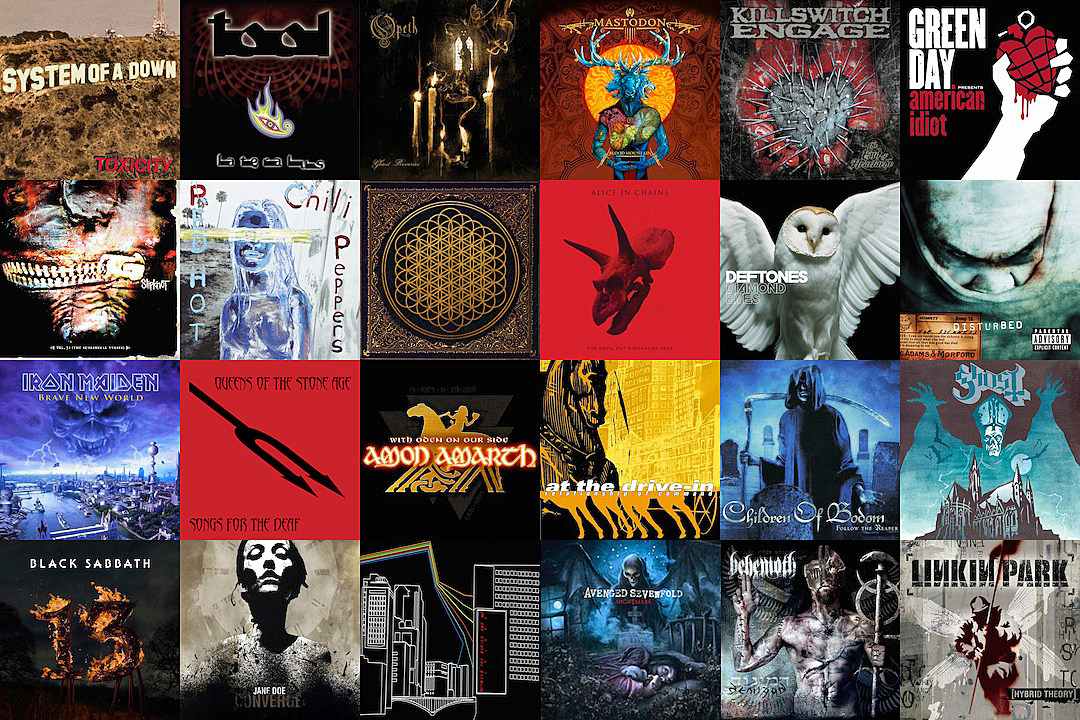 The 100 Best Hard Rock + Metal Albums of the 21st Century
