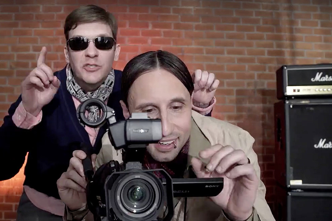 ba871aa9e Shinedown Skewer Selves, Industry in 'Asking for It' Video