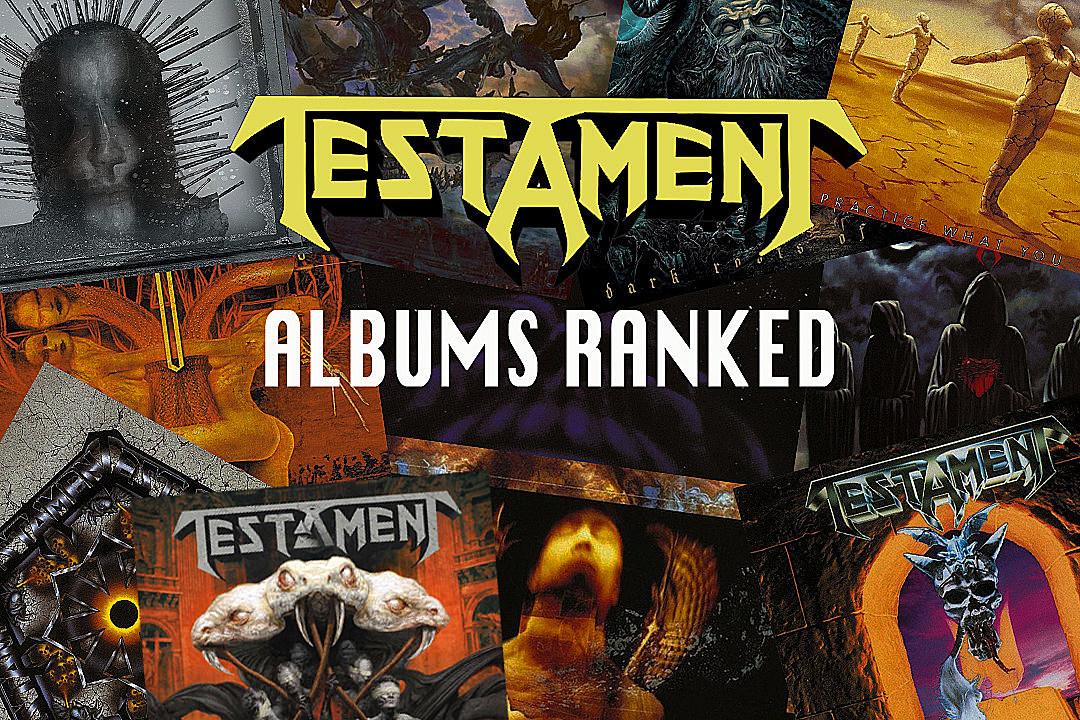 Testament Albums Ranked