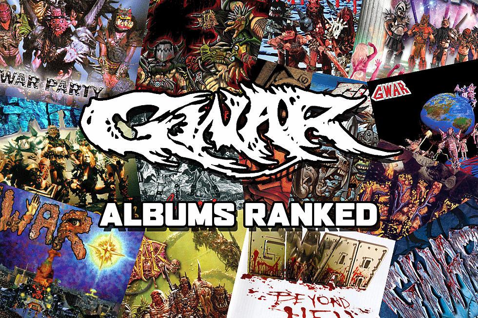 GWAR Albums Ranked