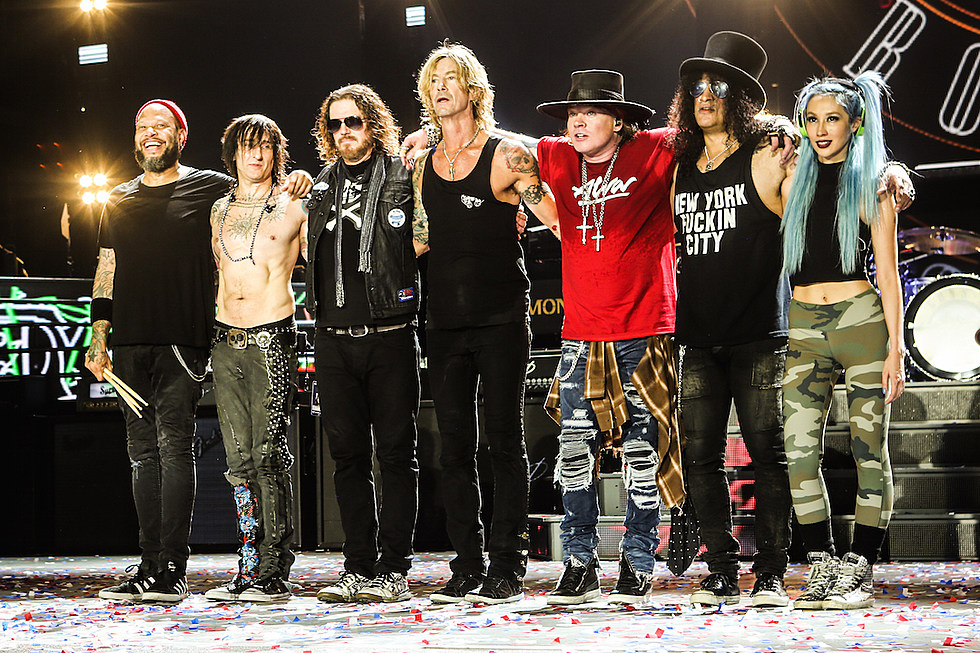 Guns N Roses Book 2018 Asian Tour Dates