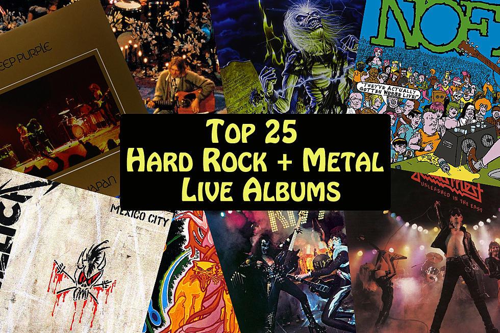 Top 25 Hard Rock + Metal Live Albums