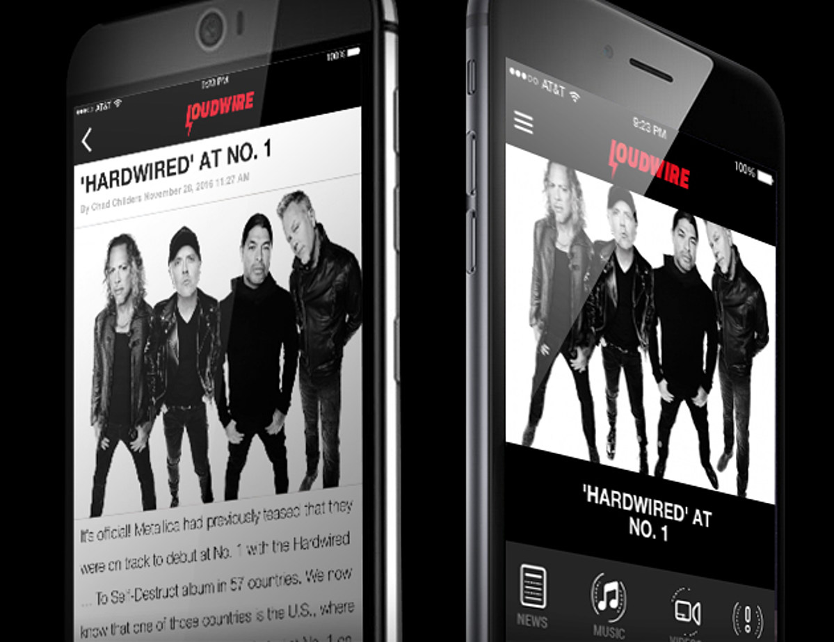 Introducing: The Loudwire Mobile App - Loudwire