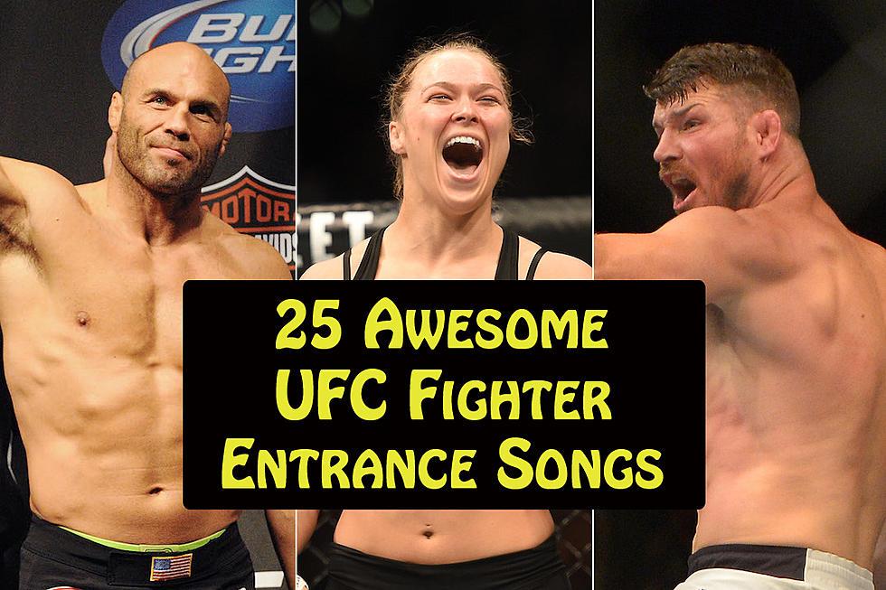 25 Awesome UFC Fighter Entrance Songs