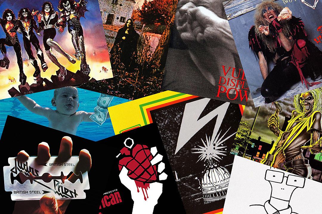 30 Iconic Hard Rock Metal Album Covers