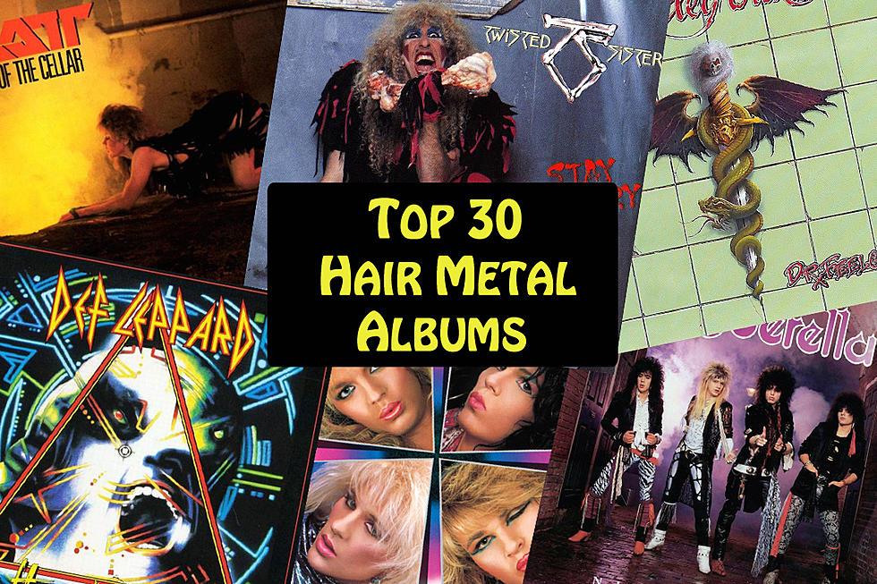Top 30 Hair Metal Albums