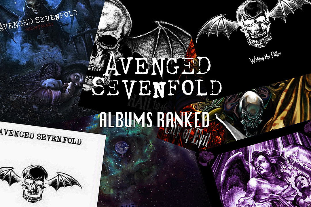 avenged sevenfold albums release dates