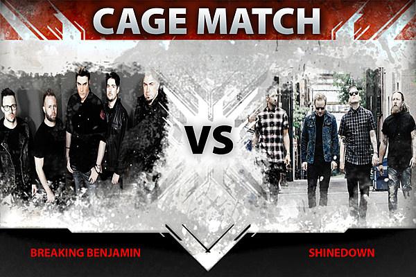 breaking benjamin vs shinedown cage match. Black Bedroom Furniture Sets. Home Design Ideas