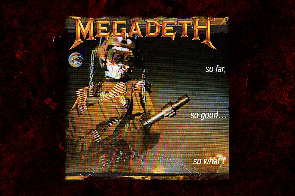 31 Years Ago: Megadeth Release 'So Far, So Good… So What!'