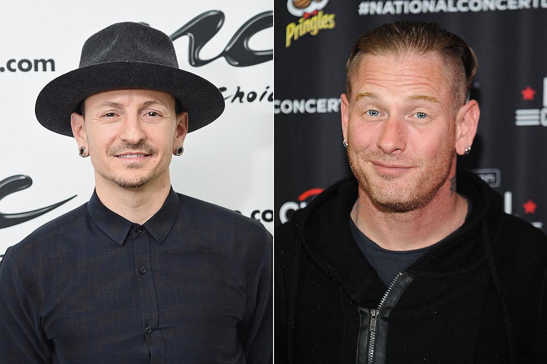 Chester Bennington Corey Taylor Approves Of New Linkin Park