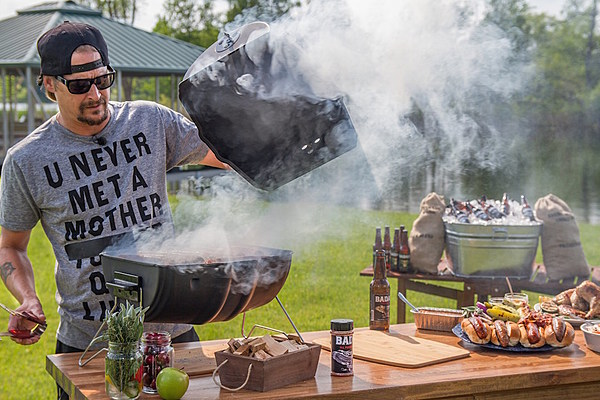Kid Rock Unveils American Badass Grill Made Entirely In