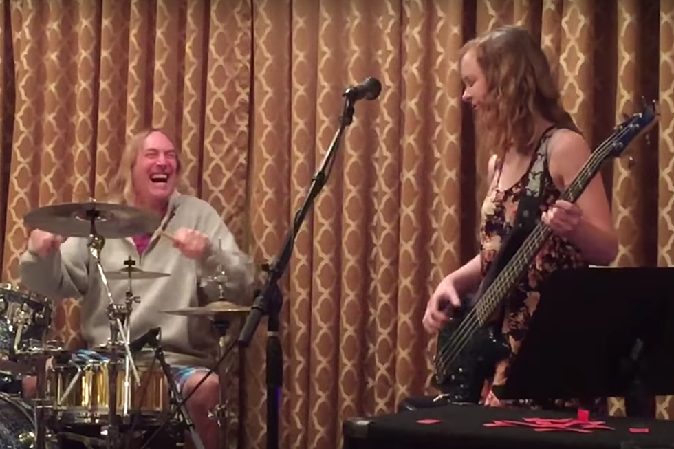 Tool's Danny Carey Jams 'The Pot' With Talented Kids