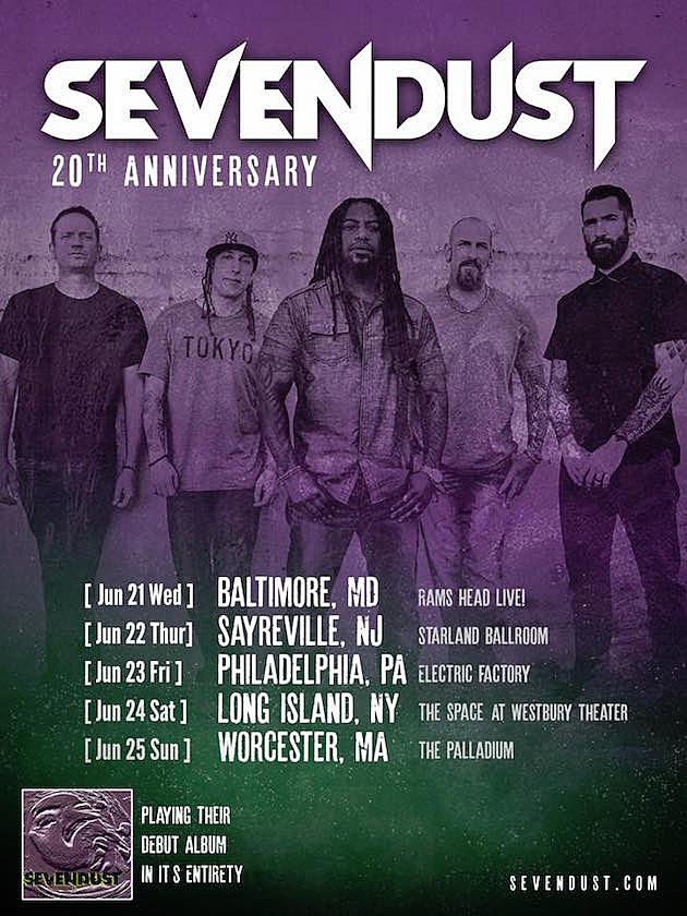 Sevendust Announce More 20th Anniversary Shows for Debut Album