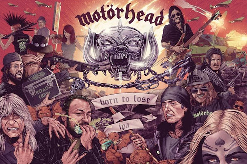Motorhead Team With Amplified Ale Works on Two New Beers