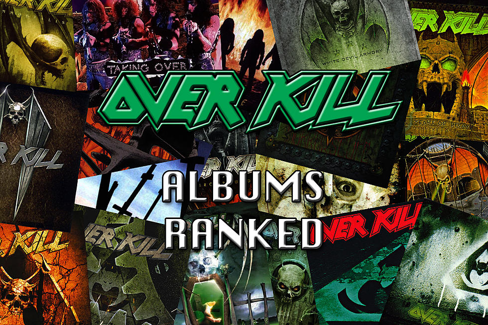Overkill Albums Ranked