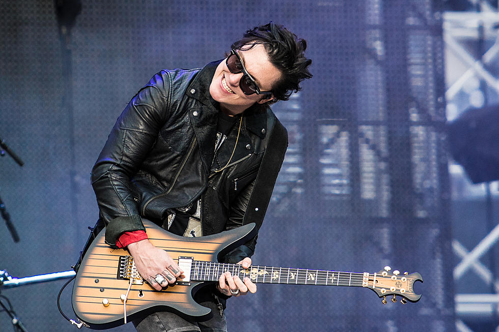 A7X's Synyster Gates: I Cried When I Had to Leave My Newborn