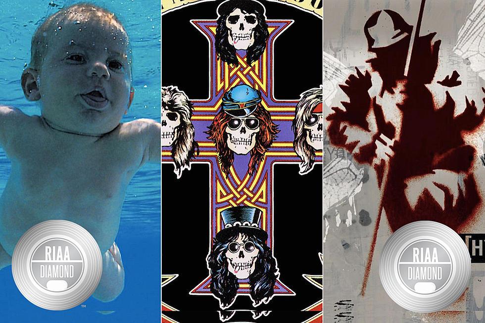 20 Best Selling Hard Rock + Metal Albums in the U S