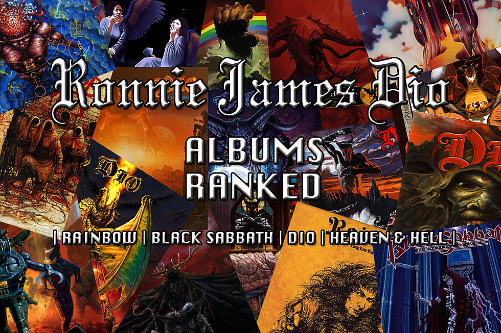 Ronnie James Dio Albums Ranked