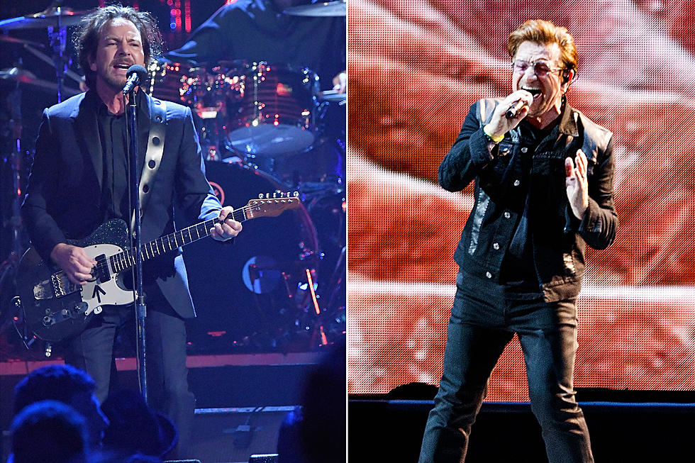Eddie Vedder Joins U2 for 'Mothers of the Disappeared' in