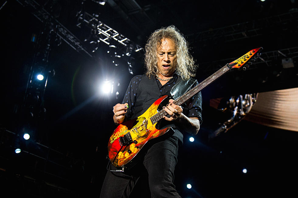Kirk Hammett Names Song That Inspired Him to Use a Wah Pedal