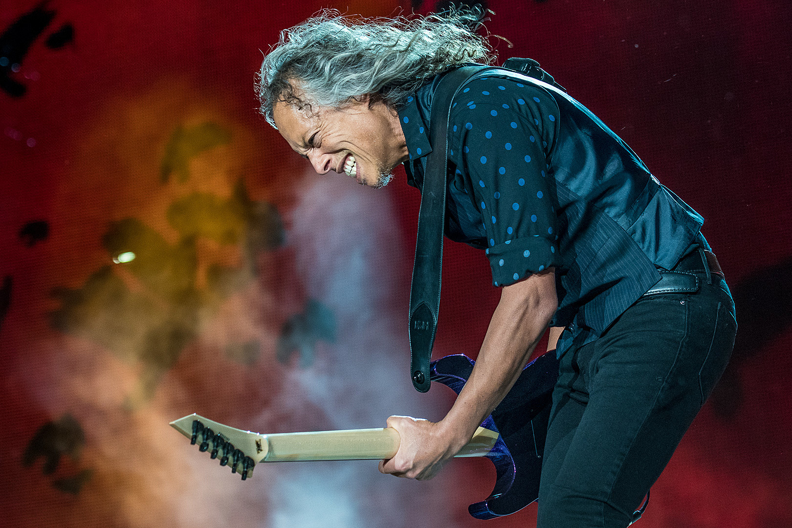 Kirk Hammett Was on The Toilet When Metallica Called Him to Join
