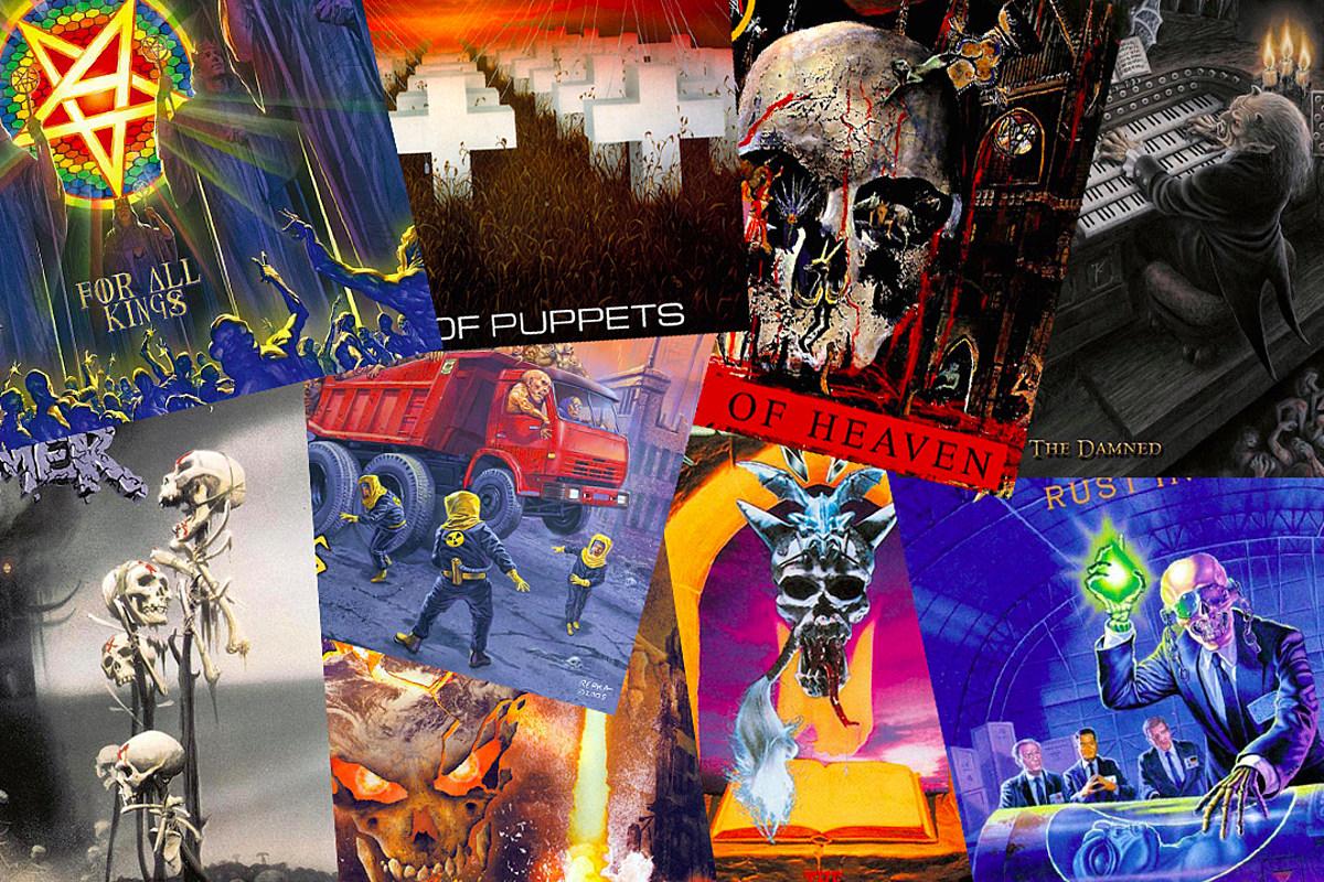 Лучший трэш-металлический альбом каждого года с 1983 года