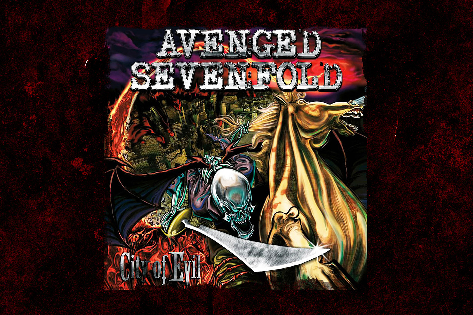 15 Years Ago: Avenged Sevenfold Release 'City of Evil'