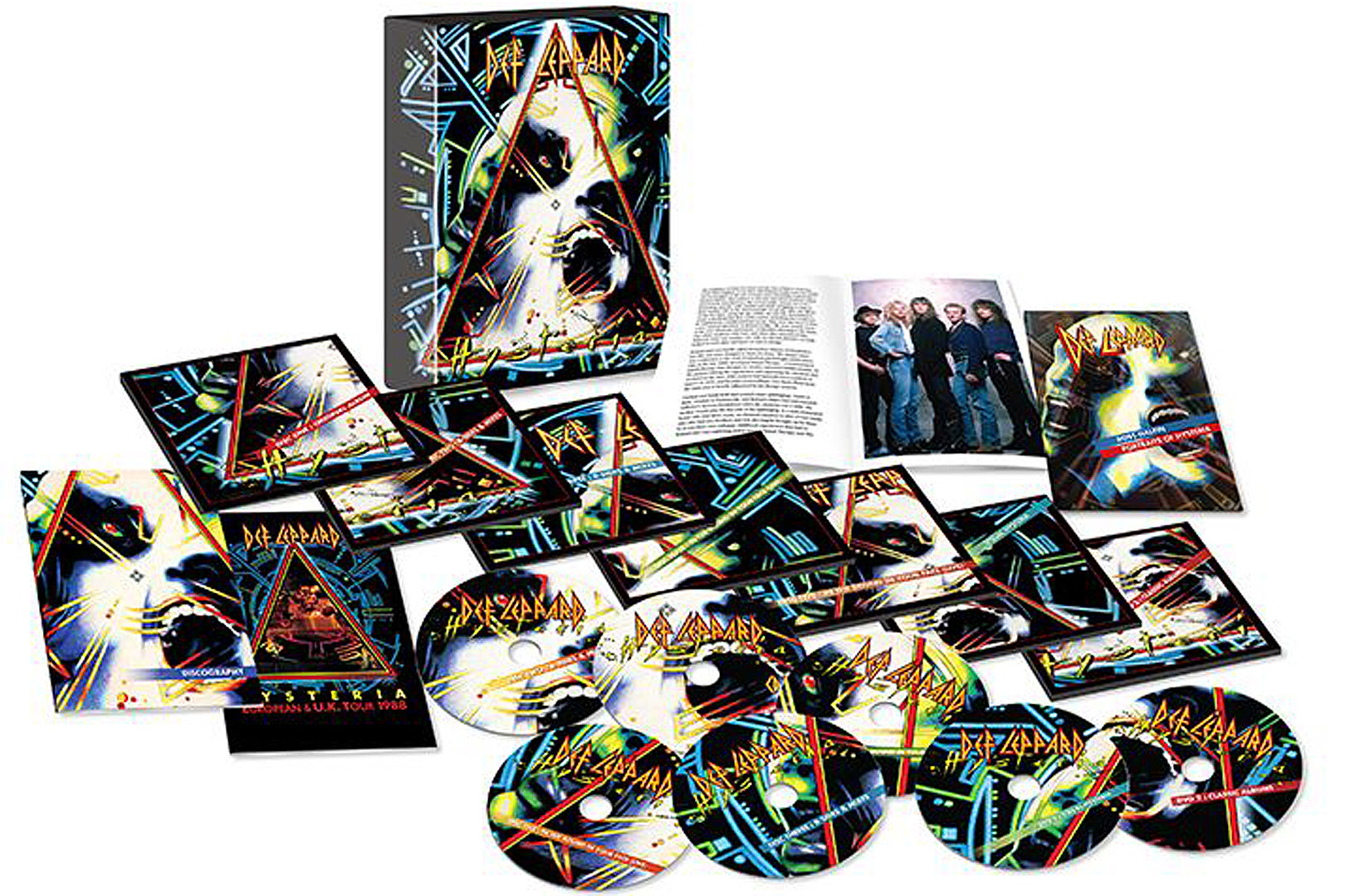 Def Leppard Reveal 30th Anniversary 'Hysteria' Remastered Box Set